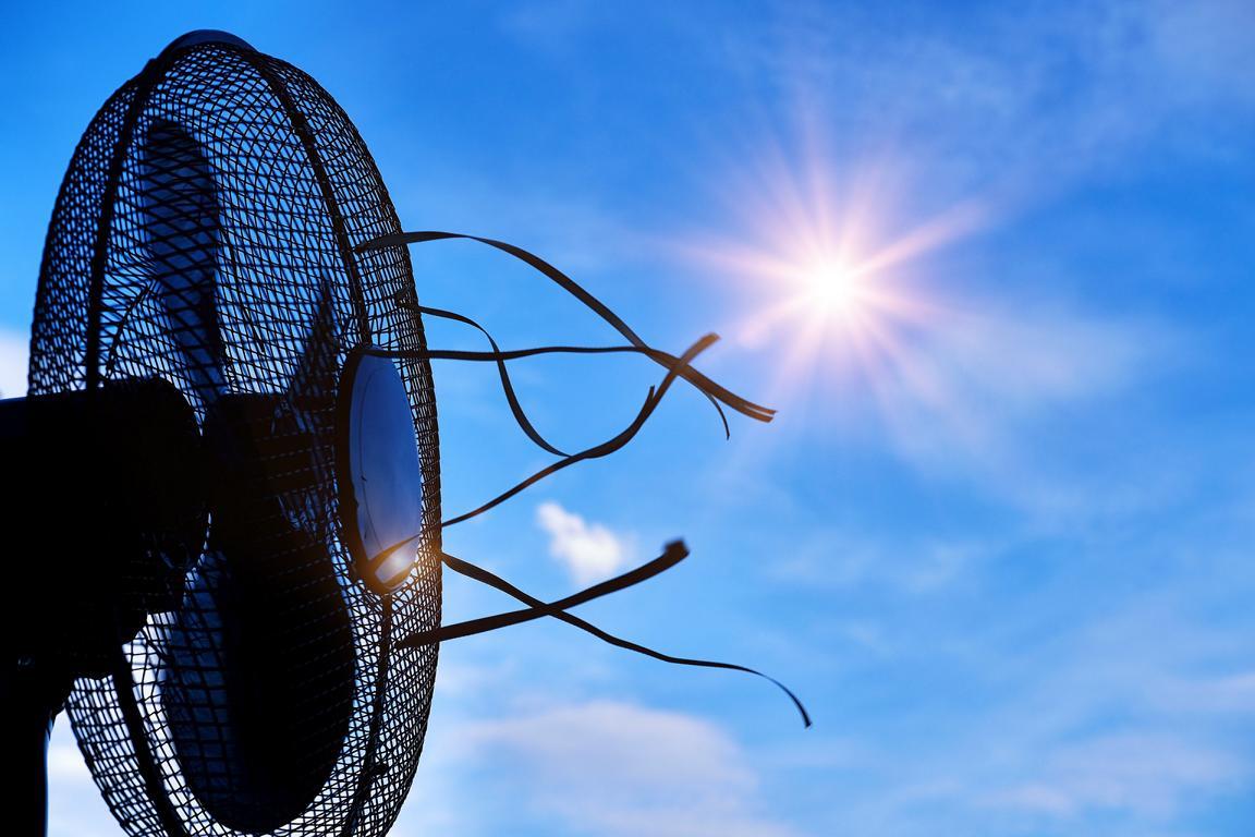 Ventilator im Freien