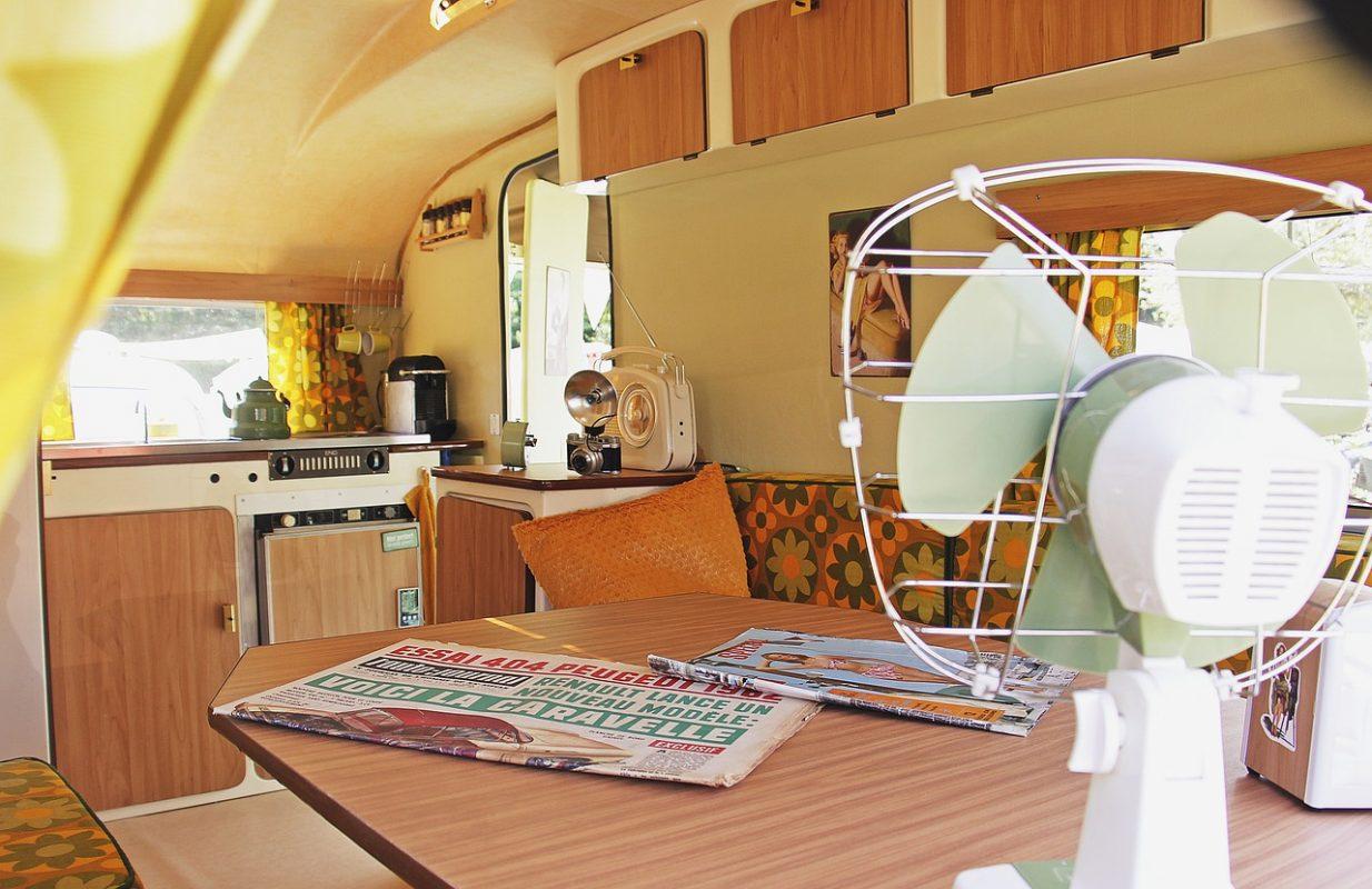Ventilator in Wohnwagen
