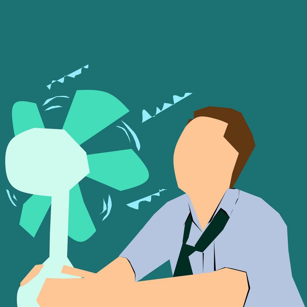 Ventliator Hitze Temperatur Sommer