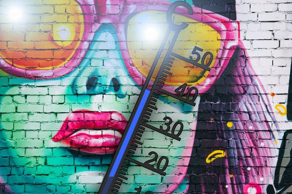 Thermometer Sommer Hitze Temperatur Sommer