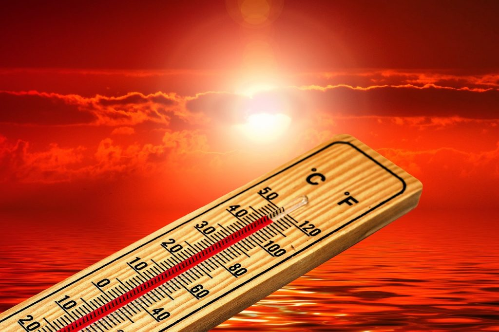Thermometer Sommer Heiß Hitze